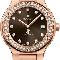Hublot Rose gold Automatic Brown 38mm new Classic Fusion 45, 42, 38, 33 mm