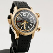 Jaeger-LeCoultre Master Compressor Extreme W-Alarm Rose gold 46mm Black Arabic numerals