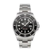 Rolex Sea-Dweller 4000 použité 43mm Černá Datum Sklad
