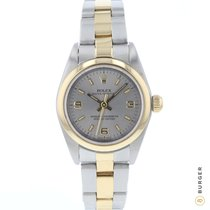 Rolex Oyster Perpetual 76183 Sehr gut Gold/Stahl 25mm Automatik