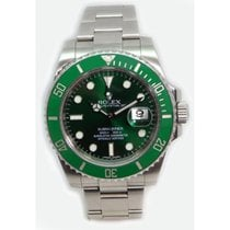 Rolex Submariner 116610 Heavy Band Green Cerachrom Bezel and...