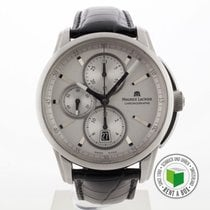 Maurice Lacroix Zilver Chronograaf Automatisch 42.5mm 2012 Pontos Chronographe