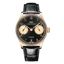 IWC Portuguese Automatic Rose gold Black UAE, Dubai