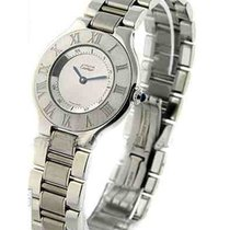Cartier W10110T2 Must 21 - Large Size. - on Stainless Steel...