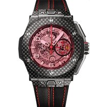 Hublot Big Bang Ferrari Carbon 45mm Arabic numerals