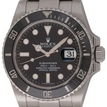 Rolex : Submariner Date :  116610 :  Stainless Steel : black dial