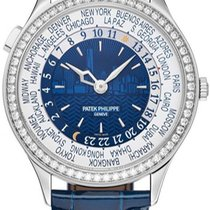 Patek Philippe World Time White gold Champagne United States of America, New York, Brooklyn