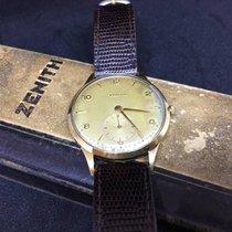 Zenith Oversize 37mm - Vintage Manual Winding - Gold 18kt - 1955