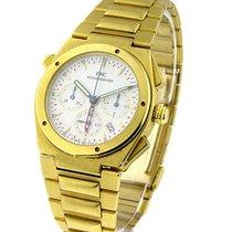 IWC 9515 Ingenieur Chrono Alarm - Yellow Gold on Bracelet