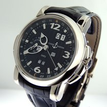 Ulysse Nardin White gold Automatic Black 42mm new GMT +/- Perpetual