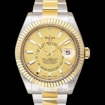 Rolex Sky-Dweller new Yellow gold