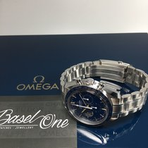 Omega Speedmaster Professional Moonwatch Steel 42mm Blue No numerals