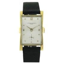 "Vacheron Constantin 18K Gold, ""Flared"", Ref. 4591, w. Box &..."