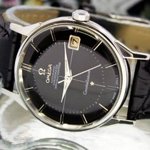 Omega 1960s Constellation Automatic Date Mens Vintage Steel Watch