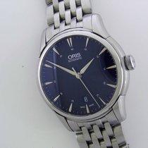 Oris Artelier Date pre-owned 40mm Steel