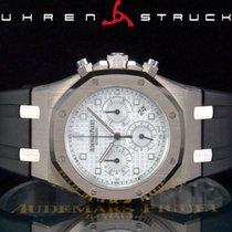 Audemars Piguet Royal Oak Chronograph Weißgold 39mm Silber Keine Ziffern Deutschland, Essen