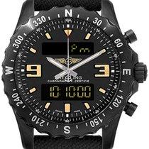 Breitling Chronospace Military new Quartz Chronograph Watch with original box M7836622-BD39-104W