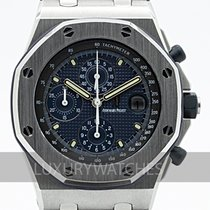 Audemars Piguet Royal Oak Offshore Chronograph Stål 42mm Blå Sverige, Stockholm