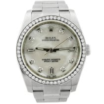Rolex Oyster Perpetual 36 Steel 36mm Mother of pearl Arabic numerals United States of America, California, Fullerton