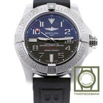 Breitling Avenger II Seawolf Zeljezo 45mm Siv Arapski brojevi
