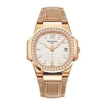 Patek Philippe Nautilus Rose gold 32mm Silver United States of America, New York, NEW YORK