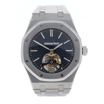Audemars Piguet Royal Oak Tourbillon Steel 41mm Blue No numerals United States of America, Pennsylvania, Bala Cynwyd