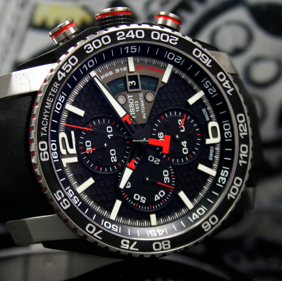 cfc166745df Tissot PRS 516 Extreme Automatic - all prices for Tissot PRS 516 Extreme  Automatic watches on Chrono24
