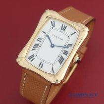 Cartier Żółte złoto Manualny używany