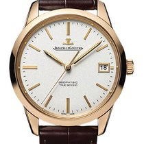Jaeger-LeCoultre Geophysic True Second Pозовое золото 39.6mm Cеребро Без цифр