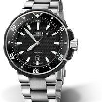 Oris ProDiver Date 01 733 7682 7154-07 8 26 75 PEB new