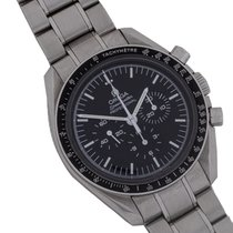 Omega Speedmaster Professional Moonwatch Stål 42mm Svart Ingen tall