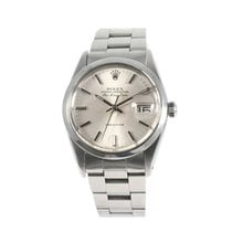 Rolex Air King Date Stahl 33mm Grau
