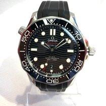 Omega Seamaster Diver 300 M Acier 42mm Noir Sans chiffres France, Saran