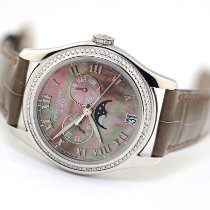 Patek Philippe Annual Calendar White gold 37mm Mother of pearl Roman numerals United States of America, Florida, Aventura