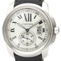 까르띠에 Calibre de Cartier 스틸 42mm 은색