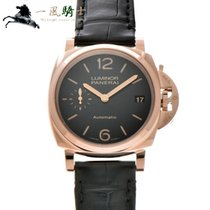 Panerai Red gold Automatic Black 38mm pre-owned