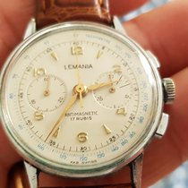 Lemania Steel 35mm Manual winding PA 150 pre-owned