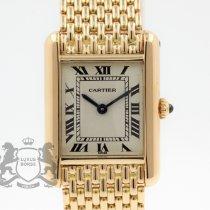 Cartier Tank Louis Cartier Gelbgold 21mm Römisch