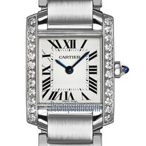 Cartier Tank Française Steel 20mm Silver United States of America, New York, Airmont