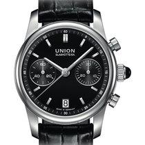 Union Glashütte Seris Otel 38mm Negru Fara cifre