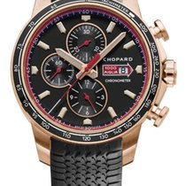 Chopard Mille Miglia Or rose 44mm Noir France, Paris