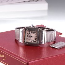 Cartier Santos Galbee, Stainless Steel, Mint, Box & Papers