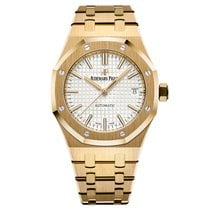 Audemars Piguet Royal Oak Lady Selfwinding Yellow Gold Silver...