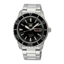 Seiko SNZH55K1 Steel 5 Sports 42mm new