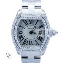 Cartier Roadster Lady 4ct Diamonds