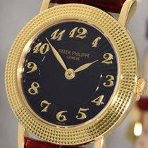 Patek Philippe Calatrava Triple Clous de Paris Lady's 18K Gold...