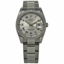 Rolex 115210 Steel 2008 Oyster Perpetual Date 34mm pre-owned United States of America, Florida, 33132