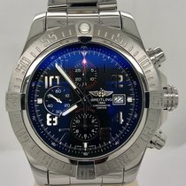 Breitling Super Avenger II Steel 48mm Black No numerals United States of America, Texas, Houston