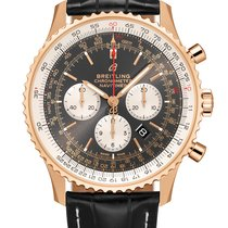 Breitling Red gold Automatic Black 46,00mm new Navitimer 01 (46 MM)