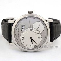 A. Lange & Söhne Grand Lange 1 Platinum 41.9mm Silver Roman numerals United States of America, Florida, Aventura